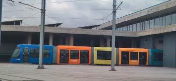 Поезд наземного метро