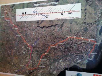План линии наземного метро