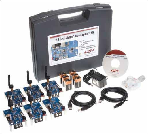 Отладочный комплект 2.4GHz ZigBeeTM Development Kit