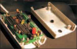 Фотография общего вида устройства AT_CORUS со снятой крышкой корпуса