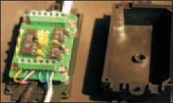 Фотография устройства RS485_2 со снятой крышкой корпуса
