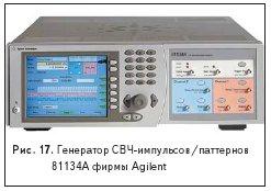 Генератор СВЧ-импульсов/паттернов81134A фирмы Agilent