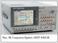 Генератор Agilent J-BERT N4003B