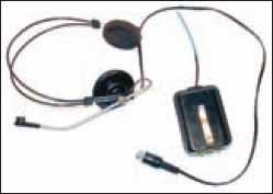 Опытный образец гарнитуры беспроводной связи