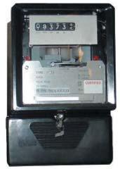 Электромеханический счетчик электроэнергии