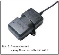 Автомобильный трекер Novacom GNS-miniTRACK