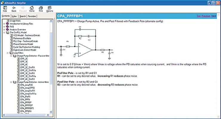 Окно проекта фильтра CPA_PPFFBP1