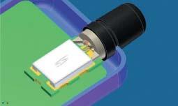 Паз колпачка, фиксирующий антенну относительно корпуса прибора