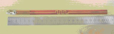 Коллинеарная антенна (далее обозначена PCB)