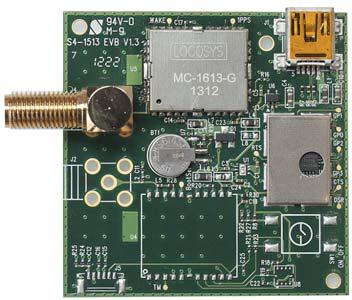 Демонстрационная плата для ГЛОНАСС/GPS-модулей