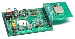 Тестирование модуля в составе отладочного комплекта JN5139-EK010