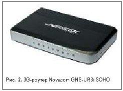 3G-роутер Novacom GNS-UR3i SOHO