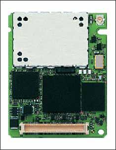 Внешний вид GSM/GPRS/EDGE–модуля MC75 Siemens Communications