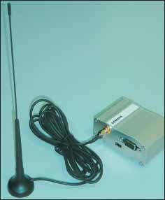 Внешний вид GSM/GPRS/EDGE–терминала, выполненного на базе модуля MC75 Siemens Communications.