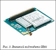 Внешний вид модема GR64 от Sony Ericsson