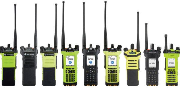 Новые радиостанции серии APX P25 от Motorola Solutions
