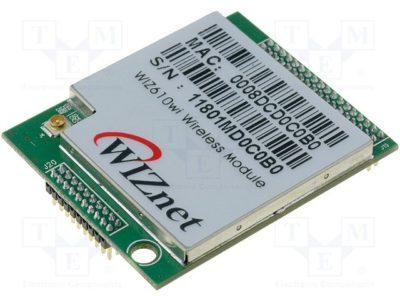Управление встраиваемым Wi-Fi-модулем WIZ610wi компании Wiznet
