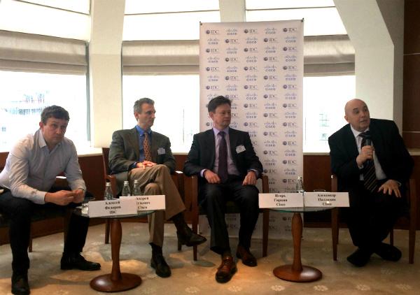 16 февраля в Москве прошла совместная пресс-конференция компаний Cisco и IDC, посвященная вопросам цифровой трансформации и приуроченная к