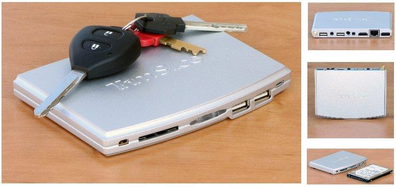 Ультракомпактный неттоп Trim Slice от CompuLab