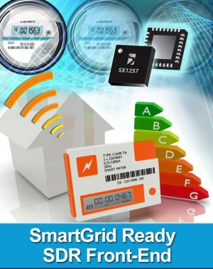 Маломощный радиочастотный трансивер SX1257 Semtech стандарта IEEE 8025.15.4g