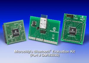 Microchip: набор Bluetooth Kit для разработки устройств связи с BlueTooth