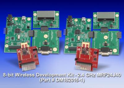 Беспроводная среда разработки MiWi Microchip для сетей стандарта IEEE 802.15.4, 2,4 ГГц и безлицензионных сетей субгигагерцового диапазона