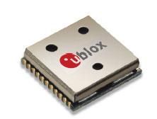 Серия новых GPS-модулей MAX6 от u-blox