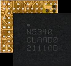 Двухъядерный чип nRF5340 Nordic Semiconductor в корпусе WLCSP доступен серийно