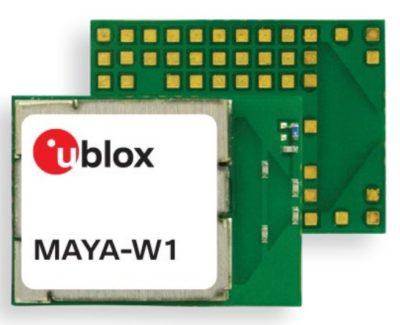 Новый Wi-Fi4-модуль u-blox MAYA-W1
