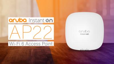 Aruba представила точку доступа Wi-Fi 6 для малого бизнеса