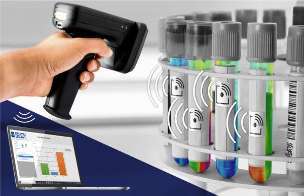 RFID-этикетки Brady для контроля температуры