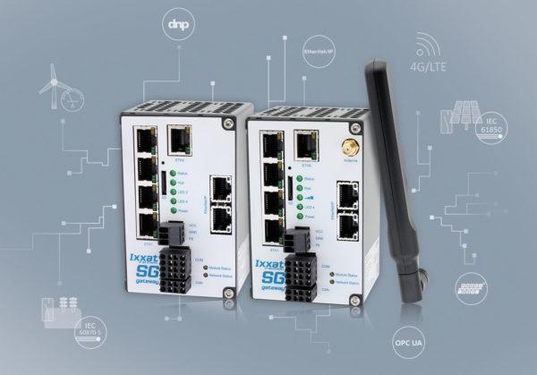 Новые шлюзы Ixxat Smart Grid с поддержкой LTE для работы с протоколами IEC 61850 и IEC 60870