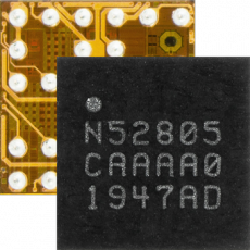 Компания Nordic Semiconductor выпустила бюджетный BLE-чип nRF52805