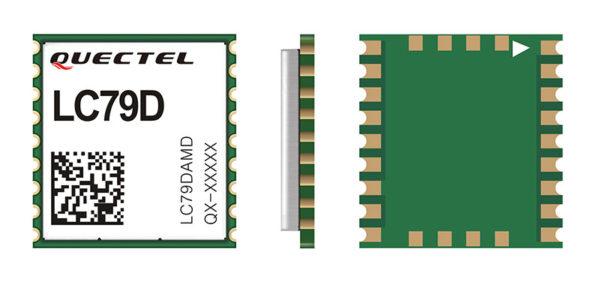 Новый сверхминиатюрный высокоточный модуль LC79D от Quectel Wireless Solutions