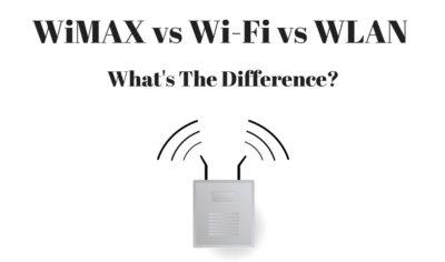 WiFi, WiMax, WLAN